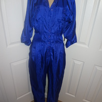 Vintage Royal Blue Jumper Size M or L