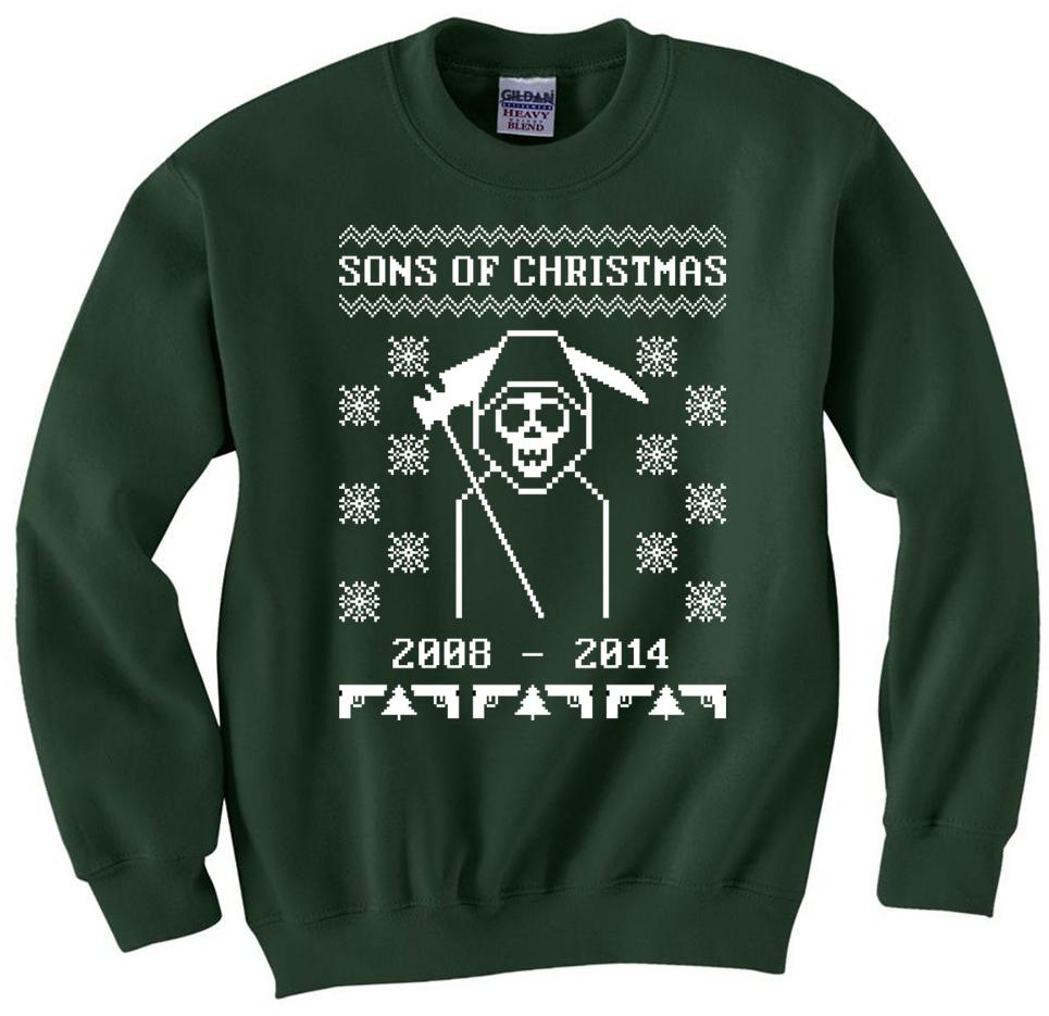 Sons of Christmas Sweatshirt · Breaking Christmas · Online Store ...