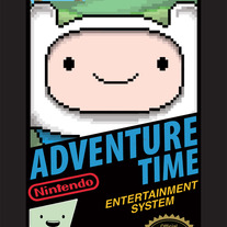 Adventure Time 8bit - Finn