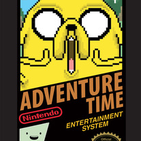 Adventure Time 8bit - Jake