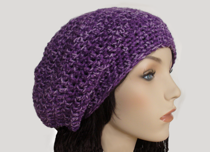 Free Crochet Pattern For Mens Slouchy Beanie : How To Crochet A Slouchy Hat