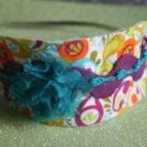 """Spring Fling"" original headband"