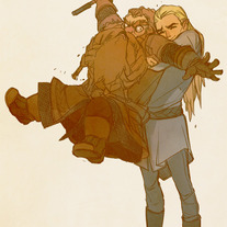 Legolas and Gimli