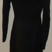 Black Sweater Dress-Old Navy Maternity Size Medium