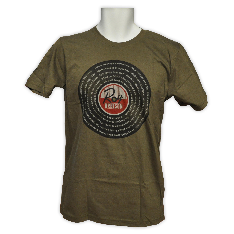 Roy Orbison Blue Bayou T Shirt Roy Orbison Online Store Online