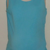 Light Blue Ribbed Tank Top-Oh Baby By Motherhood Size XL