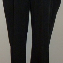Black Pants with Black Stripes-Motherhood Maternity Size Medium  031428