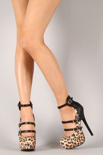 Tiger Lily Platform High Heel Shoes Worldwide Shipping