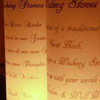 100 Wishing Stones - (Natural) Guest Book Alternative - Unique, Fun, & Eco Friendly - Thumbnail 4