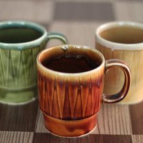 Cute Stackable Retro Mugs