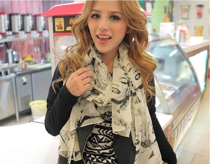 b12a96da1aab9 Marilyn Monroe Scarf · Enix Fashion · Online Store Powered by Storenvy