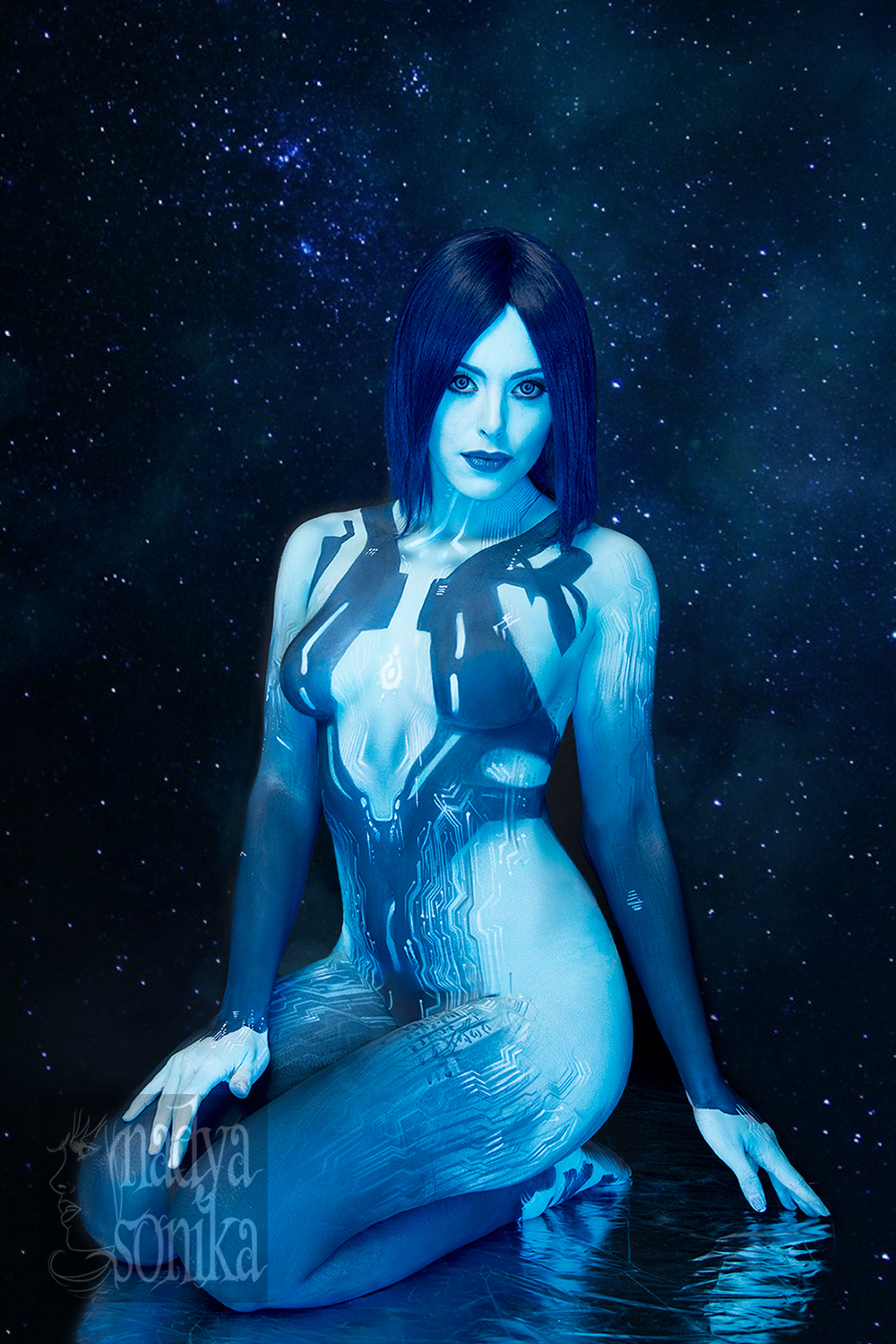 Cortana from halo masterbates softcore image