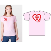 Pink Women's Heart Shirt