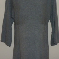 Long Gray Sweater-Gap Maternity Size Medium
