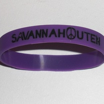 Bracelet - Savannah Outen (Purple)