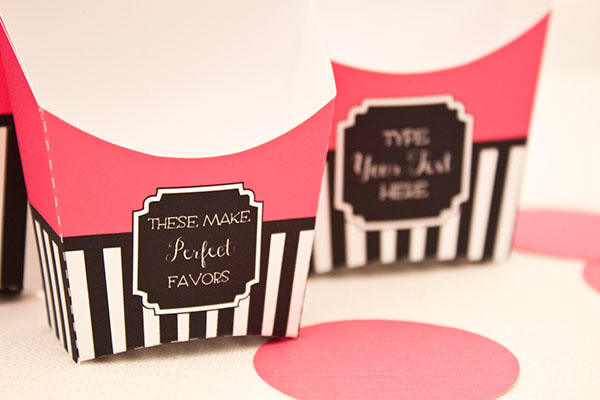 FRENCH FOOD Snack Boxes - DIY Printable Fry Box (Set of 3) | Piggy ...