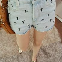 Pantalones Cruces / Crosses Shorts 2WH083