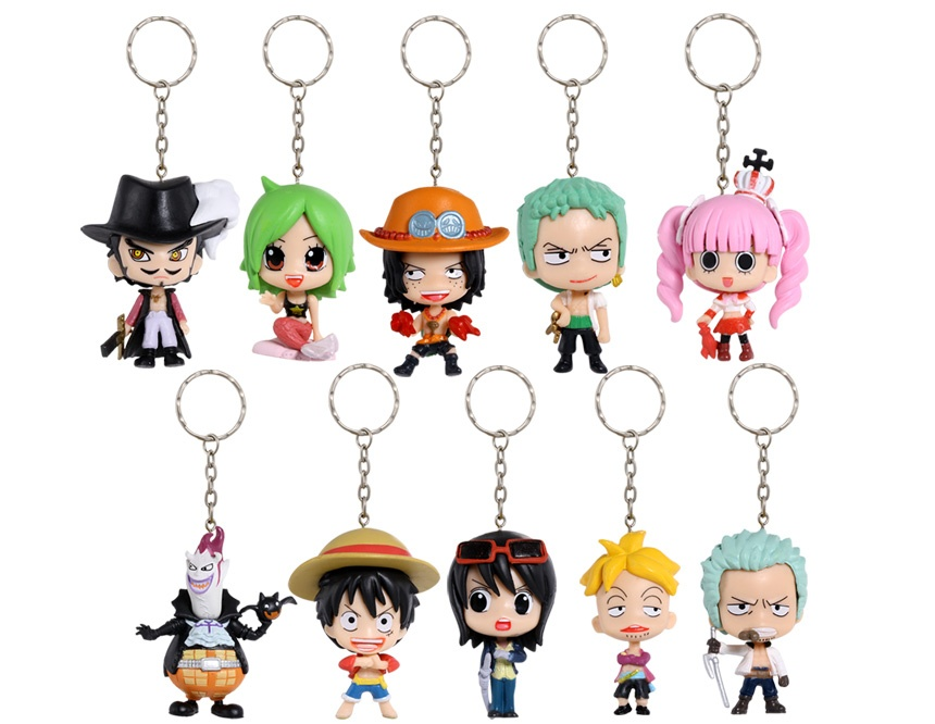 One Piece Key Chains