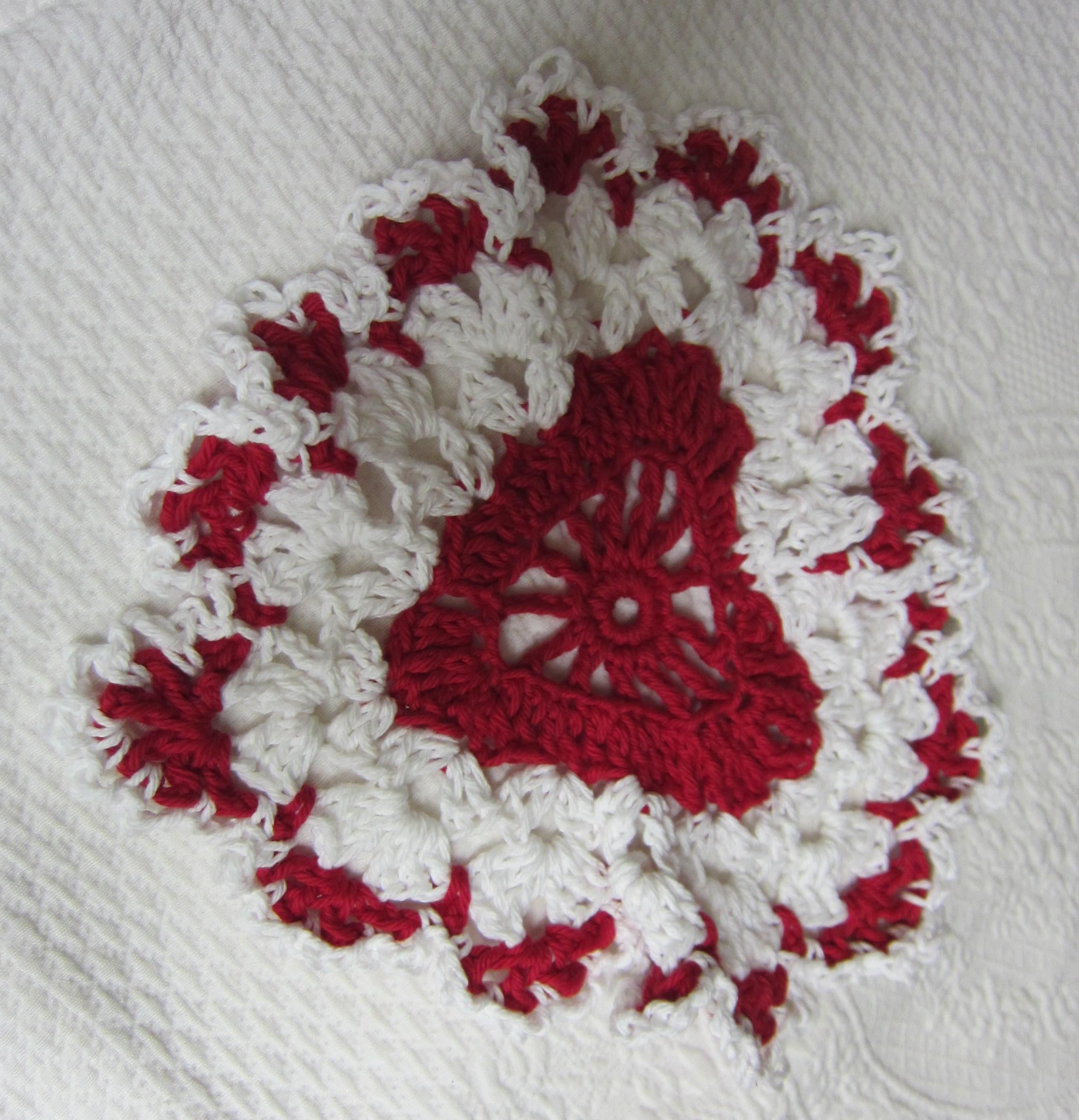 Crochet Dishcloth,Washcloth,Cotton Dishcloths,Heart Shaped ...