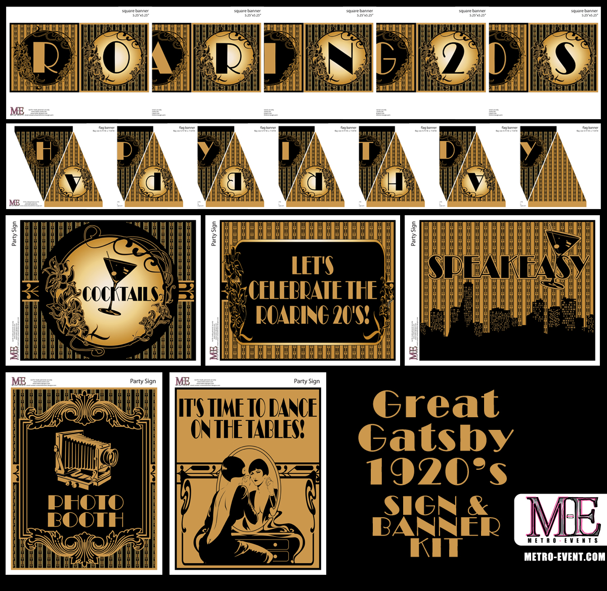 1920\'s Party, Gatsby Invitations, Art Deco Birthday, Flapper ...