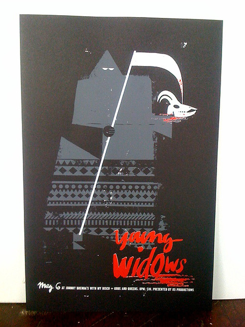 Young Widows 2011 Poster