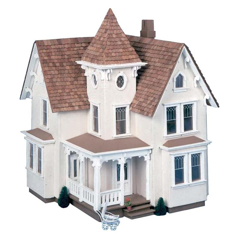 Skarla 39 s variety shop deals 1 24 scale victorian for Victorian kit homes