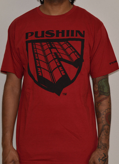 TREAD LOGO T-SHIRT RED