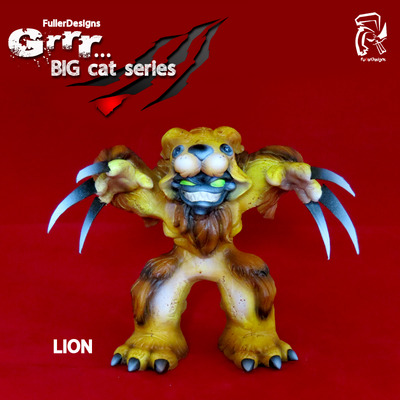 Grrr... big cat series lion