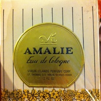 Amalie Eau de Cologne Vintage HTF Sealed 2 oz