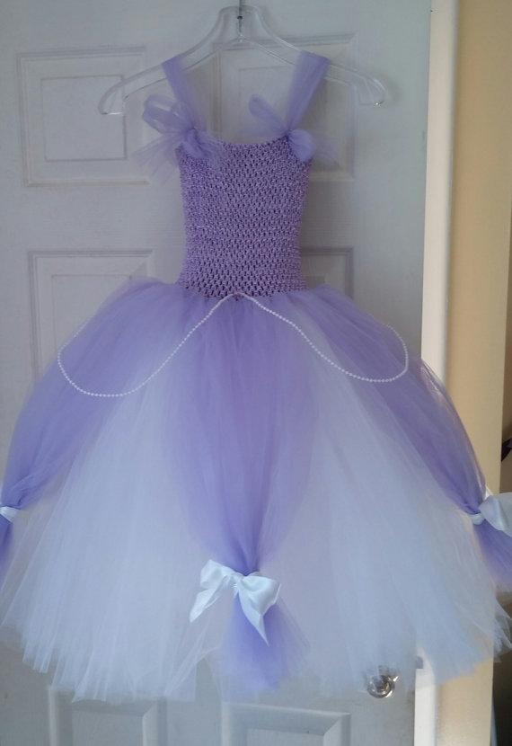 Princess Sofia Blue Dress Princess Sofia Tutu Dress