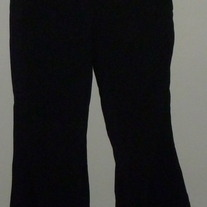 Black Dress Pants-Mimi Maternity Size Small  040213