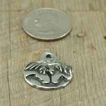 Forever Friends Horse Pewter Charm