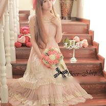 Vestido Kawaii Largo / Long Kawaii Dress 2WH205