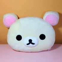 Korilakkuma Mini Head Cushion [MP38301]