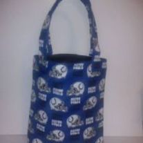 Medium Indianapolis Colts Cotton Print Tote Bag