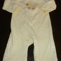 Duck Long Sleeve Romper-Gymboree Size 0-3 Months