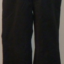 Black Pants with Decorative Panel-Gap Maternity Size 6 Regular  04115