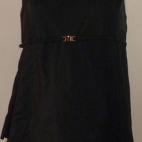 Black Skirt Tankini-Motherhood Maternity Size Large  CLLO