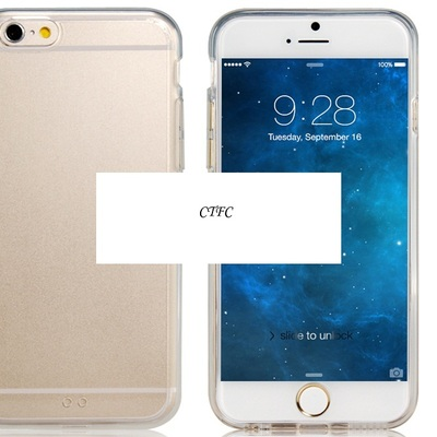 4.7'' acrylic case for iphone 6 (transparent)