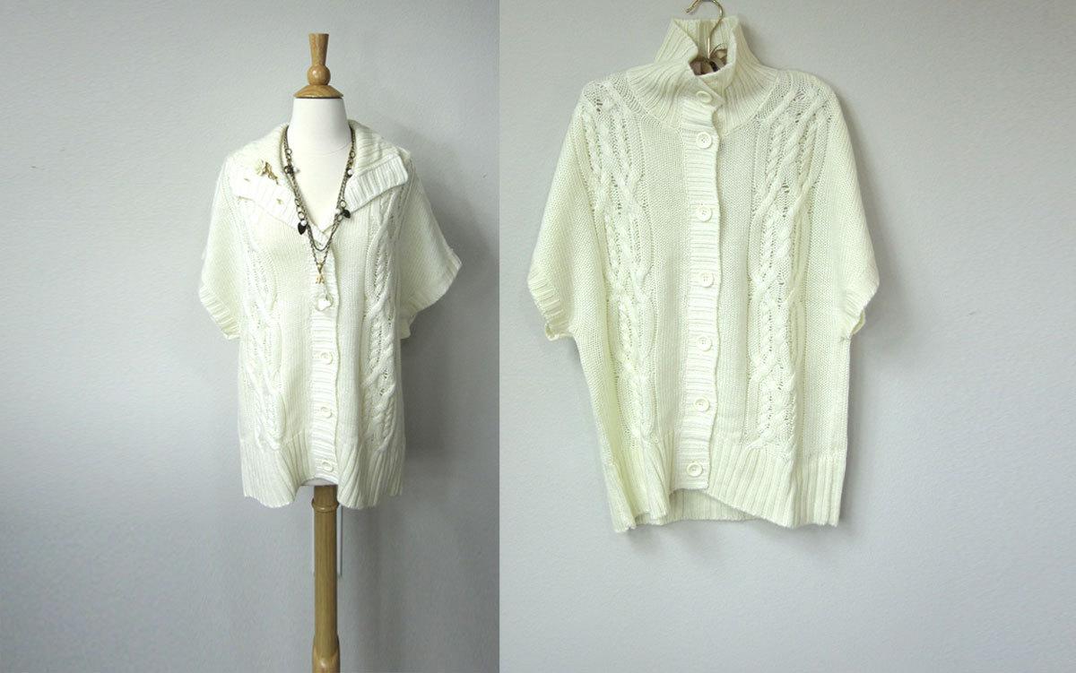 Winter White Tunic Sweaters 11