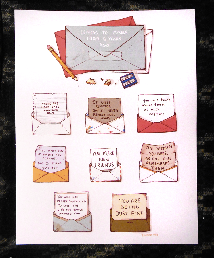 letters to myself print