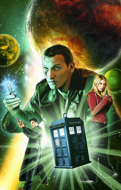 doctor who 9th doctor  2 artist print  u00b7 joe corroney art