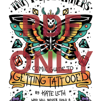 Ink for beginners: a comic guide to getting tattooed digital pdf by kate leth