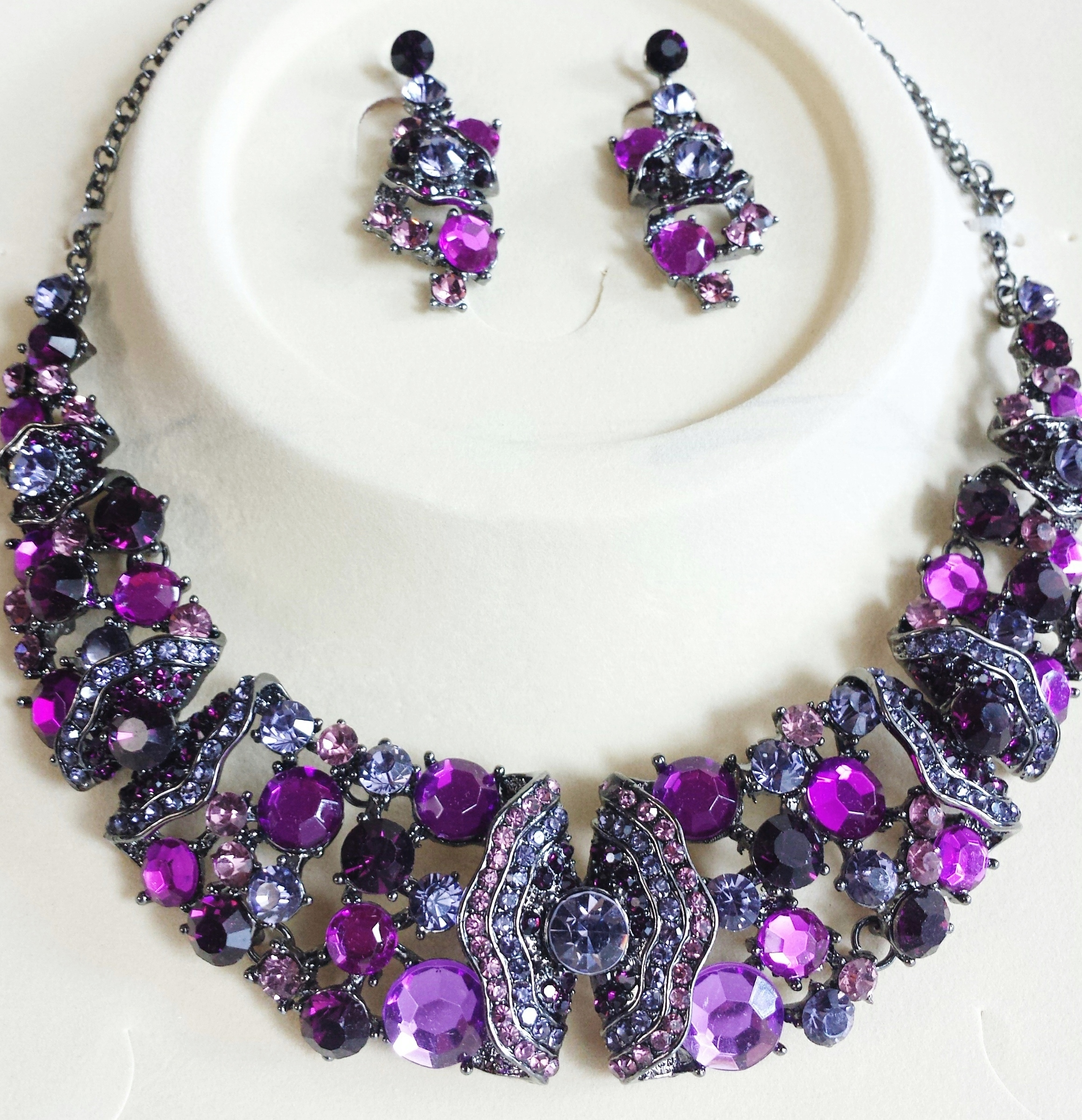 purple epidolite jacquie large yg tourmaline with pave bezel aiche pink teardrop necklace products