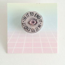 In It To End It Illustrated Pin  medium photo