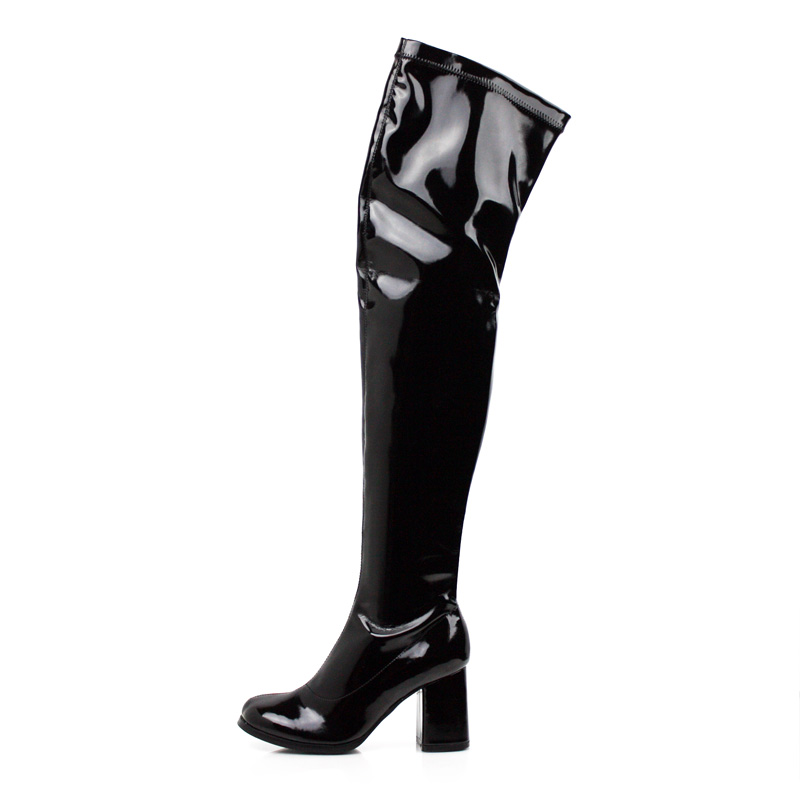 ShoesAhem | GOLDA-02 Over The Knee Go-Go Boots | Online Store Powered ... Marketplace