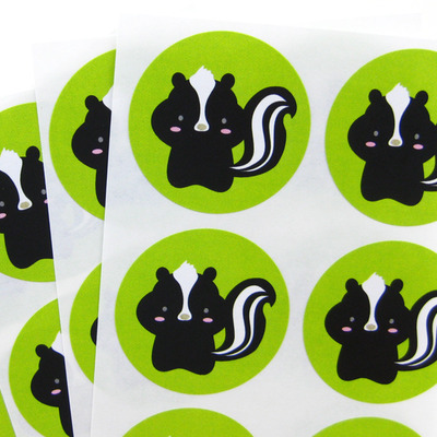 Skunk stickers