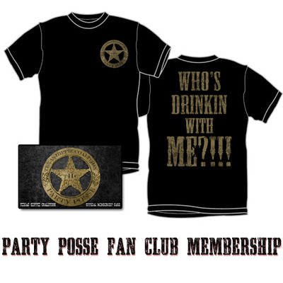 Party posse fan club membership