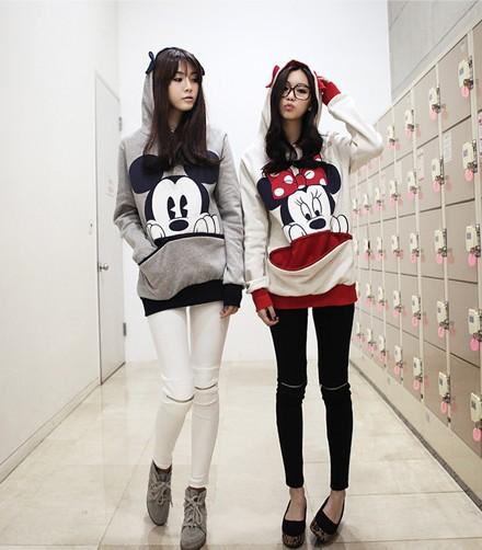 kawaii clothing sudadera rat n mouse hoodie wh272. Black Bedroom Furniture Sets. Home Design Ideas