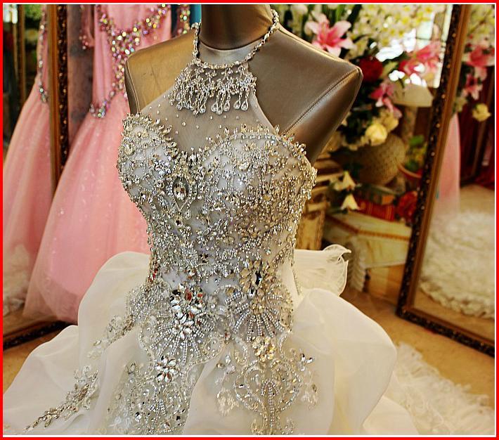 Платье в стразах сваровски